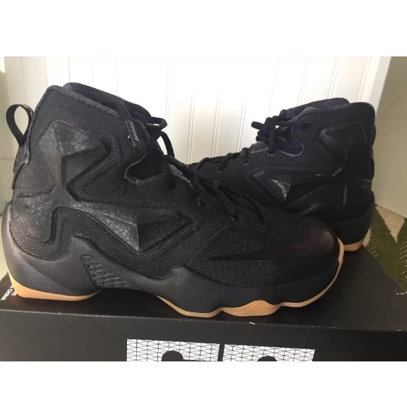 Nike Lebron James XIII Anthracite Black shoes